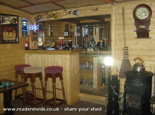 Just sheds pub sheds for Garden shed pub