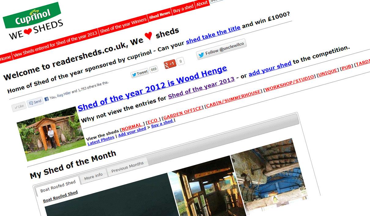 shedblog.co.uk - We love sheds - The blog of readersheds.co.uk & National Shed Week & Shed of the year
